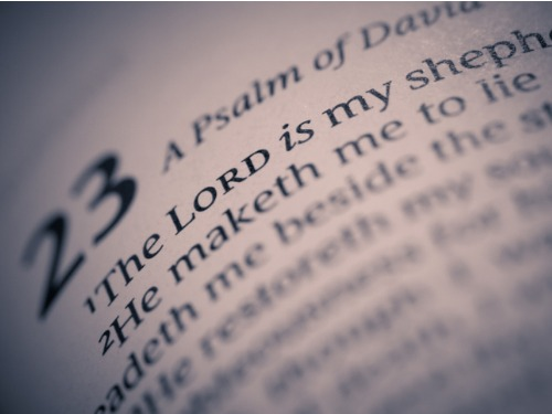 Resurrecting The 23d Psalm