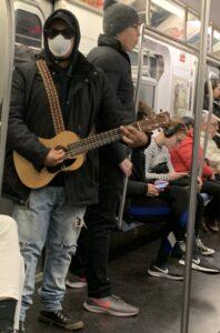 Masked Guitar Player